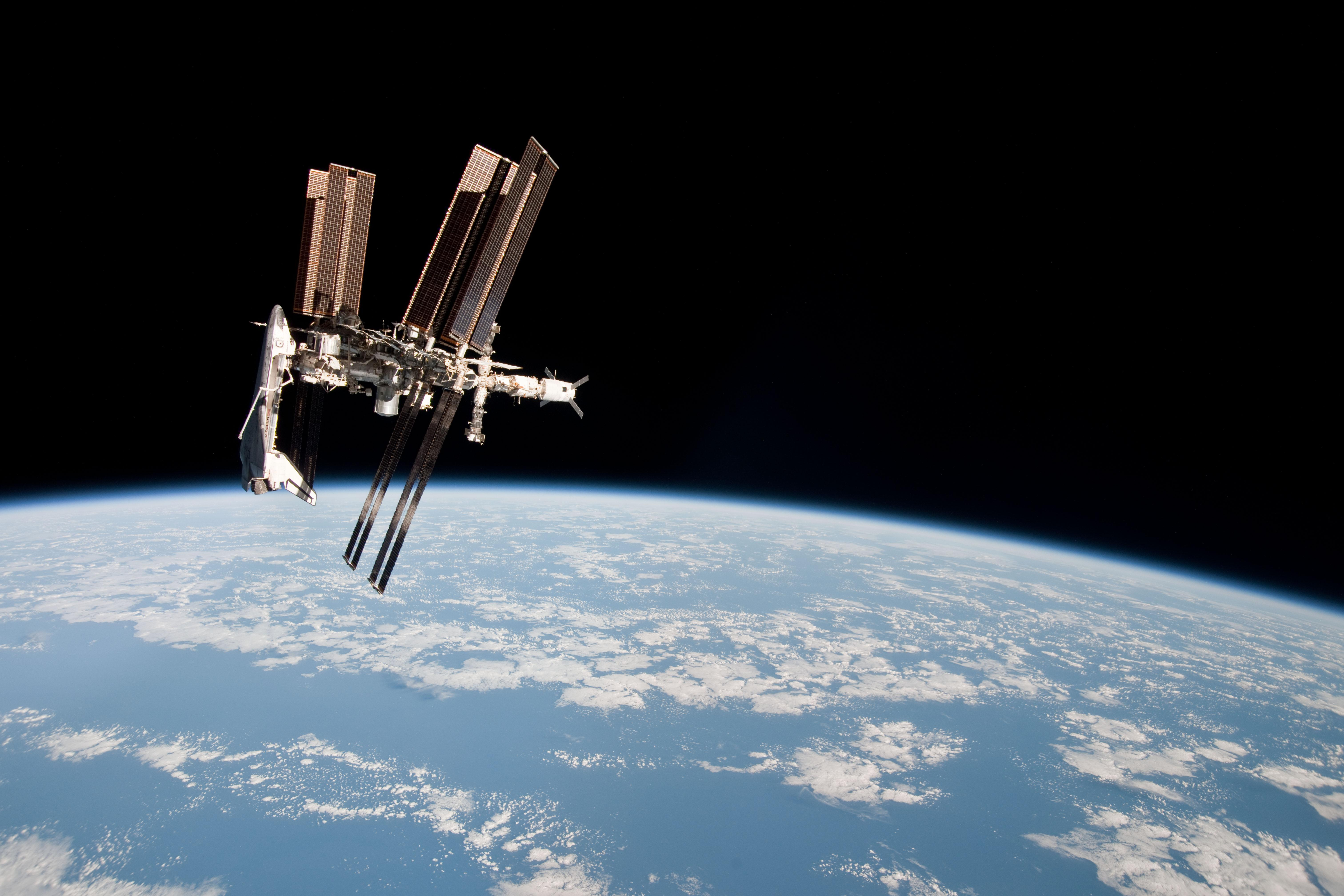 international space station shuttle - photo #3